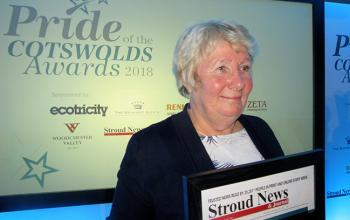 Linda Carter is Volunteer of the Year 2018